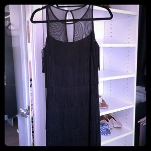 Fringe dress, NWT.